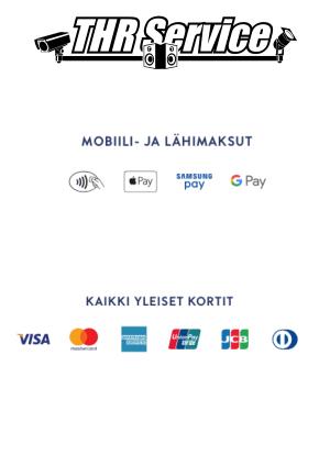 THR Service | Matkaveloitus - Kuopio | Toimitamme ja asennamme tuotteita Kuopiossa nopealla aikataululla. Ota yhteyttä ja seuraa meidän liikkeitämme SOME:ssa