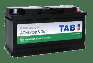 TAB EcoDry AGM AG95 | Akku | Akut | Helsinki | Espoo | Vantaa | Kuopio | THR Service