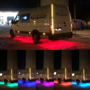 Alustavalosarja RGB LED 7m