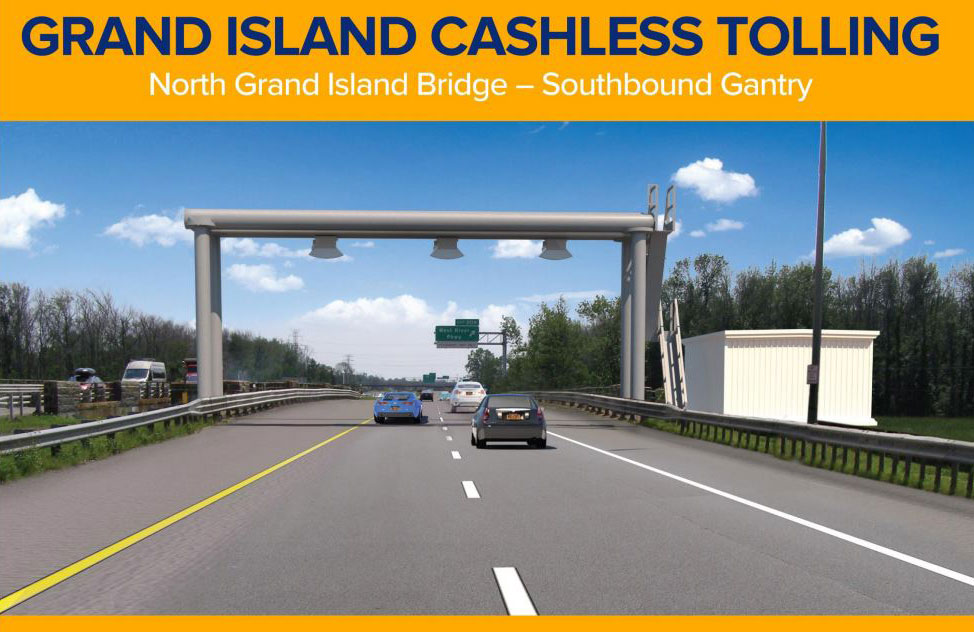 Cashless Tolling   New York State Thruway Vehicles with E ZPass tags are automatically charged  Motorists without  E ZPass will receive a toll bill mailed to the registered owner of the  vehicle
