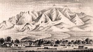 Tubac Santa Rita Mountains 1878