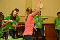 Crazy games for Teen Staff at Convention