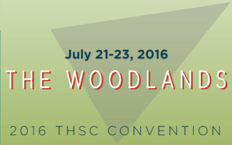 2016 THSC Convention - The Woodlands - July 21-23, 2016