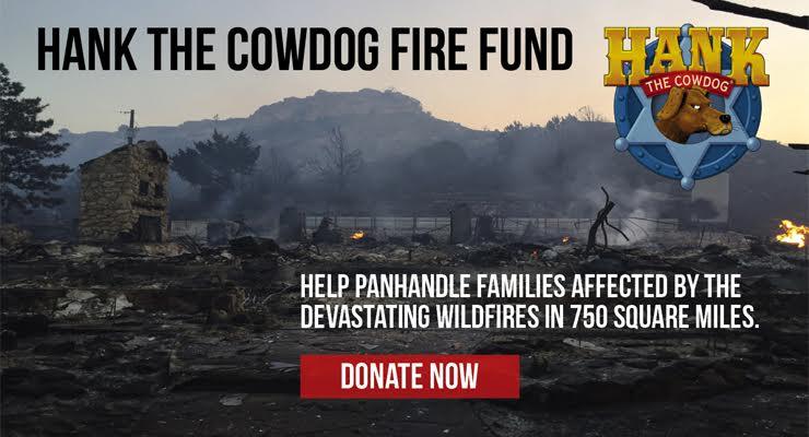 Hank the Cowdog Fire Fund