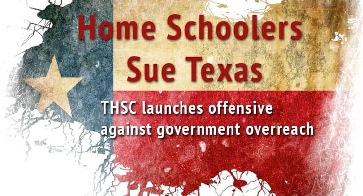 Home Schoolers Sue Texas