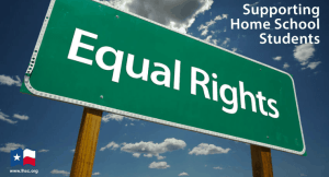 Equal Rights to Child Support for Home School Students