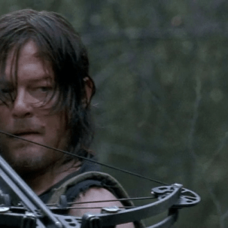 The Walking Dead Daryl and crossbow