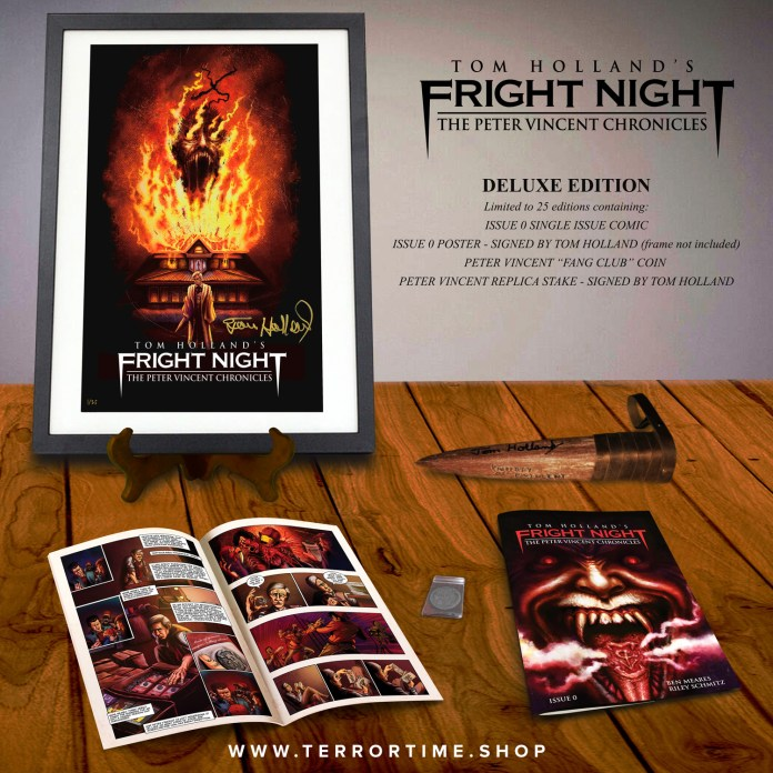 Fright Night Comic Book 2018 DELUXE EDITION