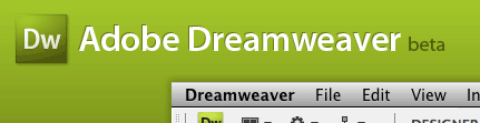 Dreamweaver CS4 beta