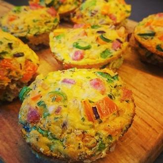 Heerlijke omelet muffins