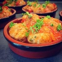 Albondigas (gehaktballetjes) in tomatensaus