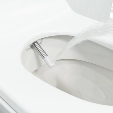 Frisse bibs met een douche-wc