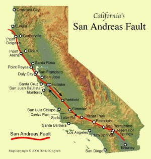 San Andreas Fault Media Resources