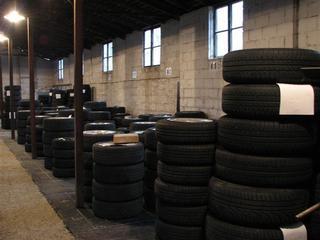 Das Kunden-Reifenlager von Auto Thum Lienz