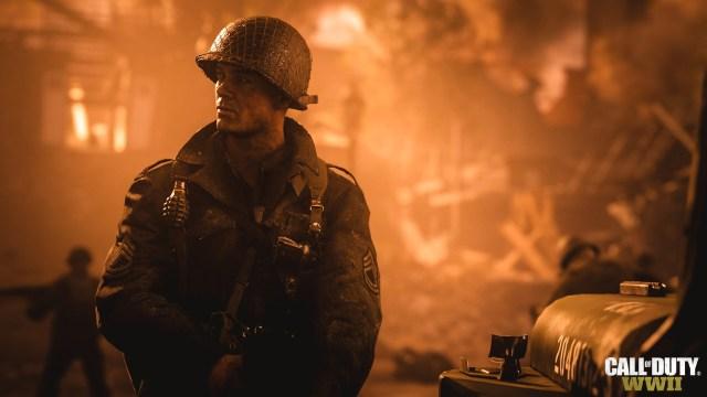 Call of duty World War 2 Main character