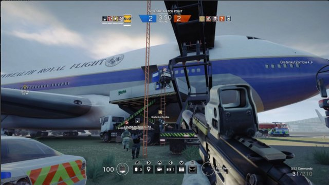 Rainbow Six Siege - Attack the plane