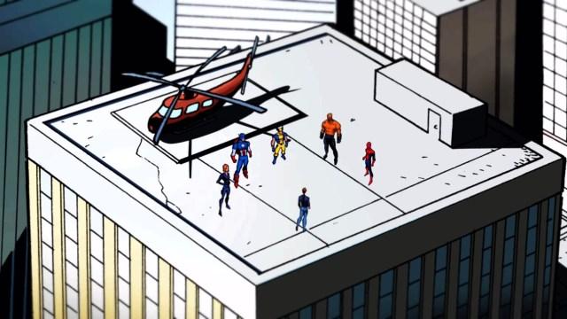Marvel Heroes Omega - Comic Style