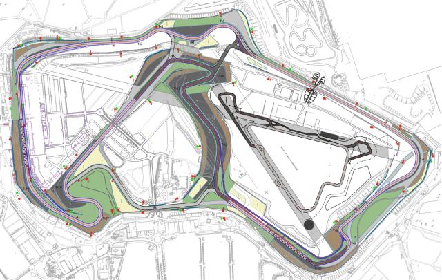 F1 2017 - Silverstone Track Layout
