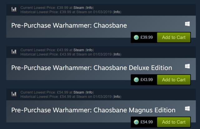 Warhammer Chaosbane Beta PC