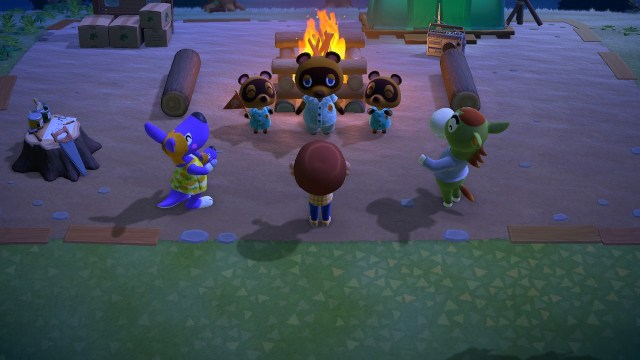 Animal Crossing: New Horizons. The orientation session.