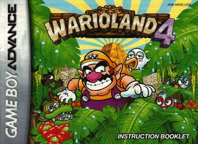 Wario Land 4 - a lesson learned