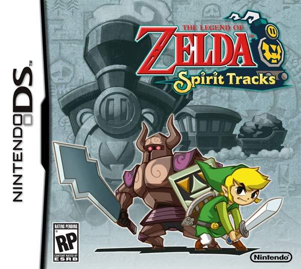 The Legend of Zelda: Spirit Tracks cover art