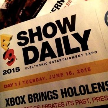 E3 2015 - Show Daily - Day 1