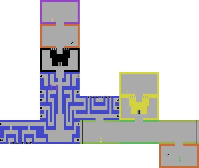 Adventure-Atari-Map