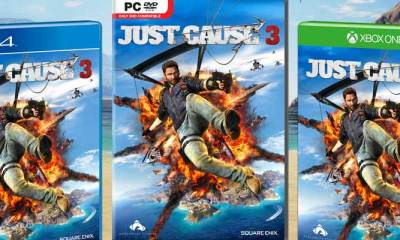 Just Cause 3 artwork