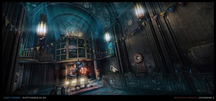 Scott Homer BioShock CryEngine screenshot 01