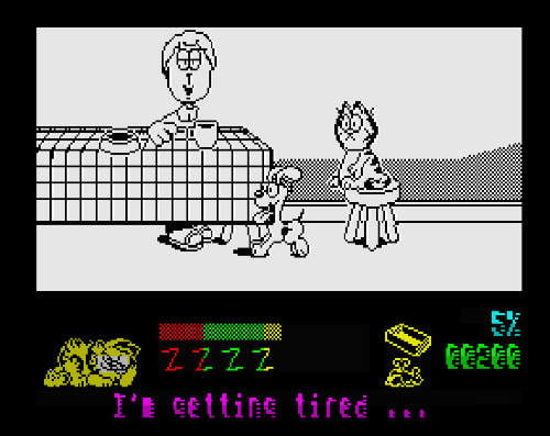 Garfield ZX Spectrum