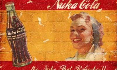 Nuka Cola sign - Fallout 4 announced!
