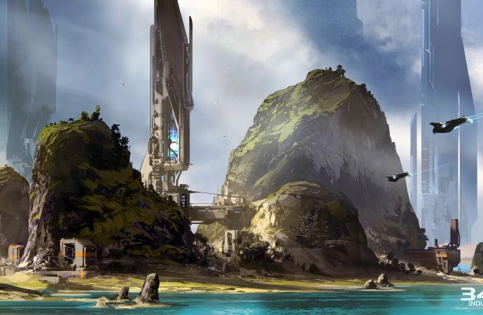 Halo 5: Guardians Mega Bloks concept art 01