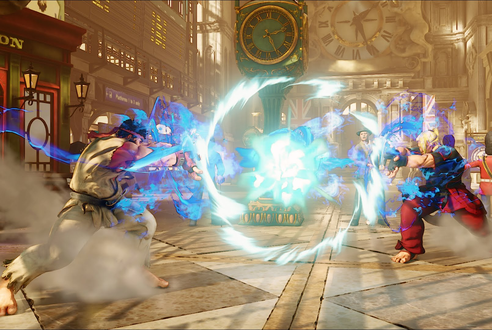 New Street Fighter V Trailer Is All About Ken Thumbsticks