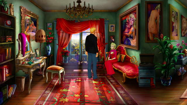 Broken Sword 5 – The Serpent's Curse – Talking to Bijou