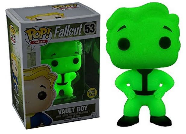 Funko Fallout figurines - glowing Vault Boy