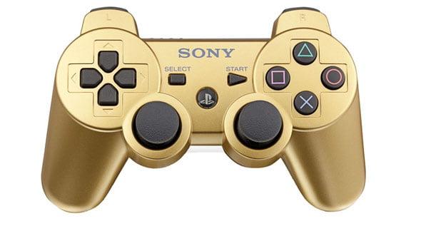PlayStation Dual Shock 3 - Metallic Gold