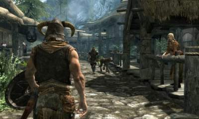 Open world games - Skyrim