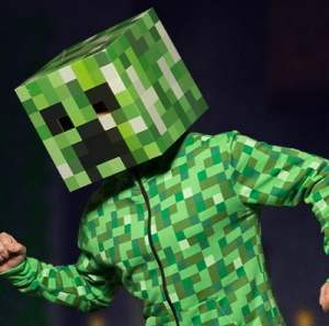 video game halloween costume ideas - creeper