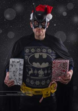 Best gaming Christmas Jumpers – Batman