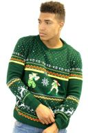 Best gaming Christmas Jumpers – Guile vs Cammy 01