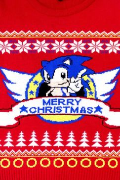 Best gaming Christmas Jumpers – Sonic 03