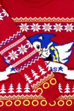 Best gaming Christmas Jumpers – Sonic 04