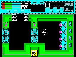 rescue zx spectrum game screenshot 02