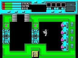 rescue zx spectrum game screenshot 02