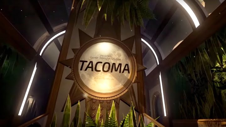 Tacoma 'Welcome' screenshot