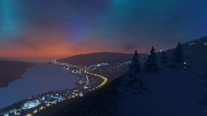 Cities: Skylines Snowfall 02