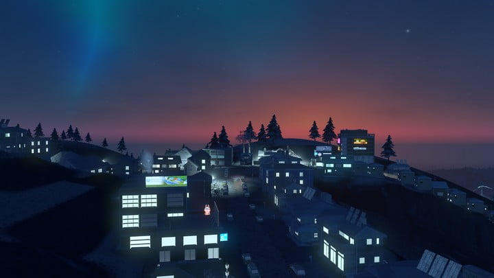 Cities: Skylines Snowfall 05
