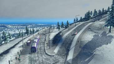 Cities: Skylines Snowfall 08
