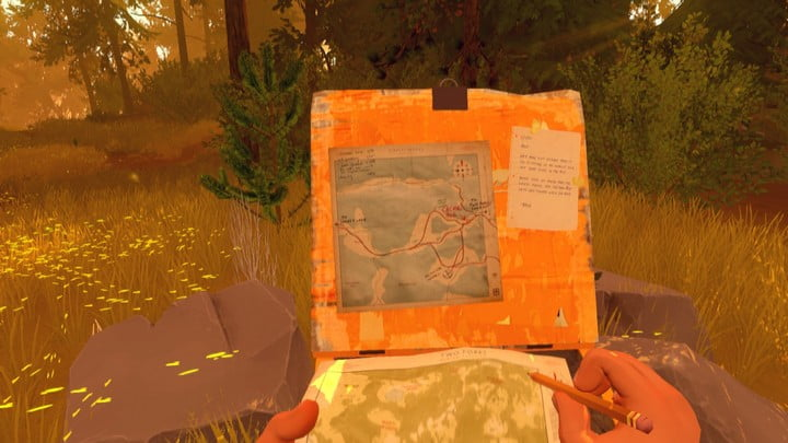 Firewatch review screenshot 14
